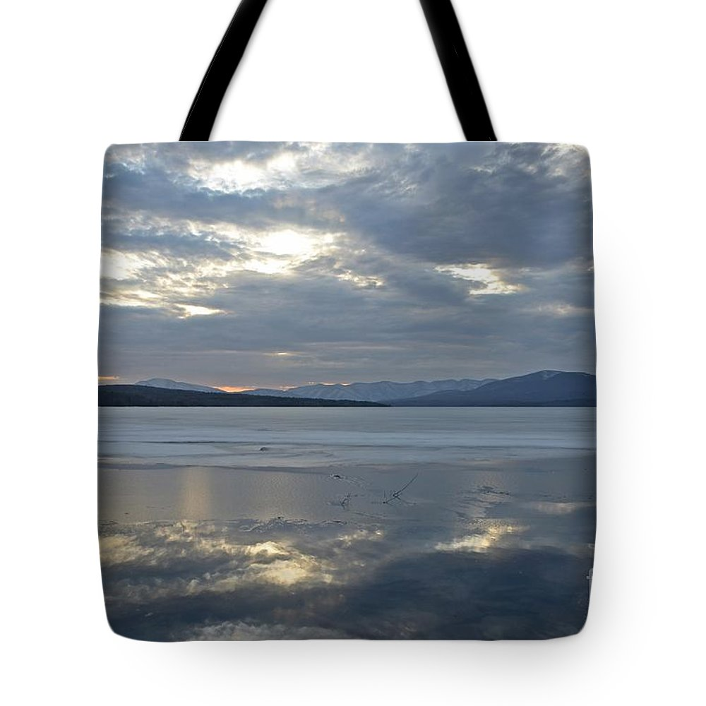 Water Tote Bag featuring the photograph Ashokan Reservoir 16 by Cassie Marie Photography
