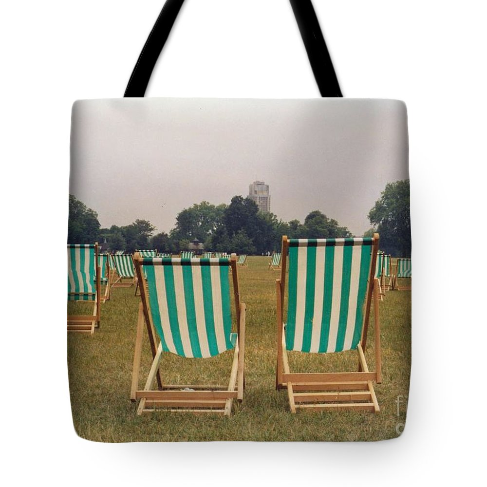 Hyde Park Tote Bag featuring the photograph Assemblage by Christine Jepsen