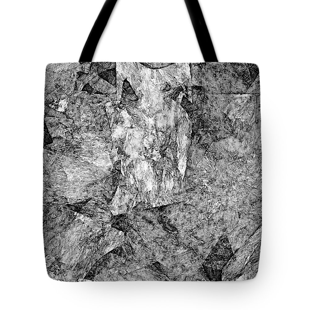 Graphics Tote Bag featuring the digital art Astraction 0584 - Marucii by Marek Lutek