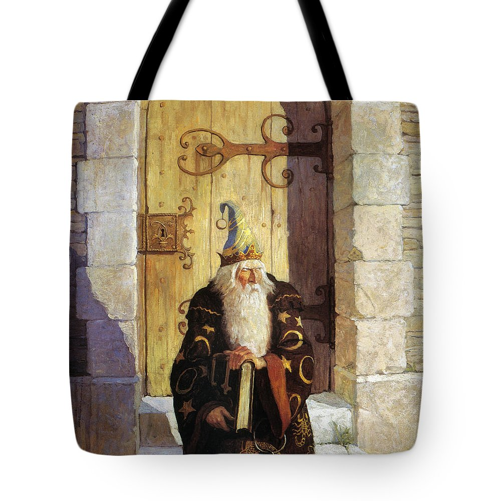 1916 Tote Bag featuring the photograph Astrologer, 1916 by Granger