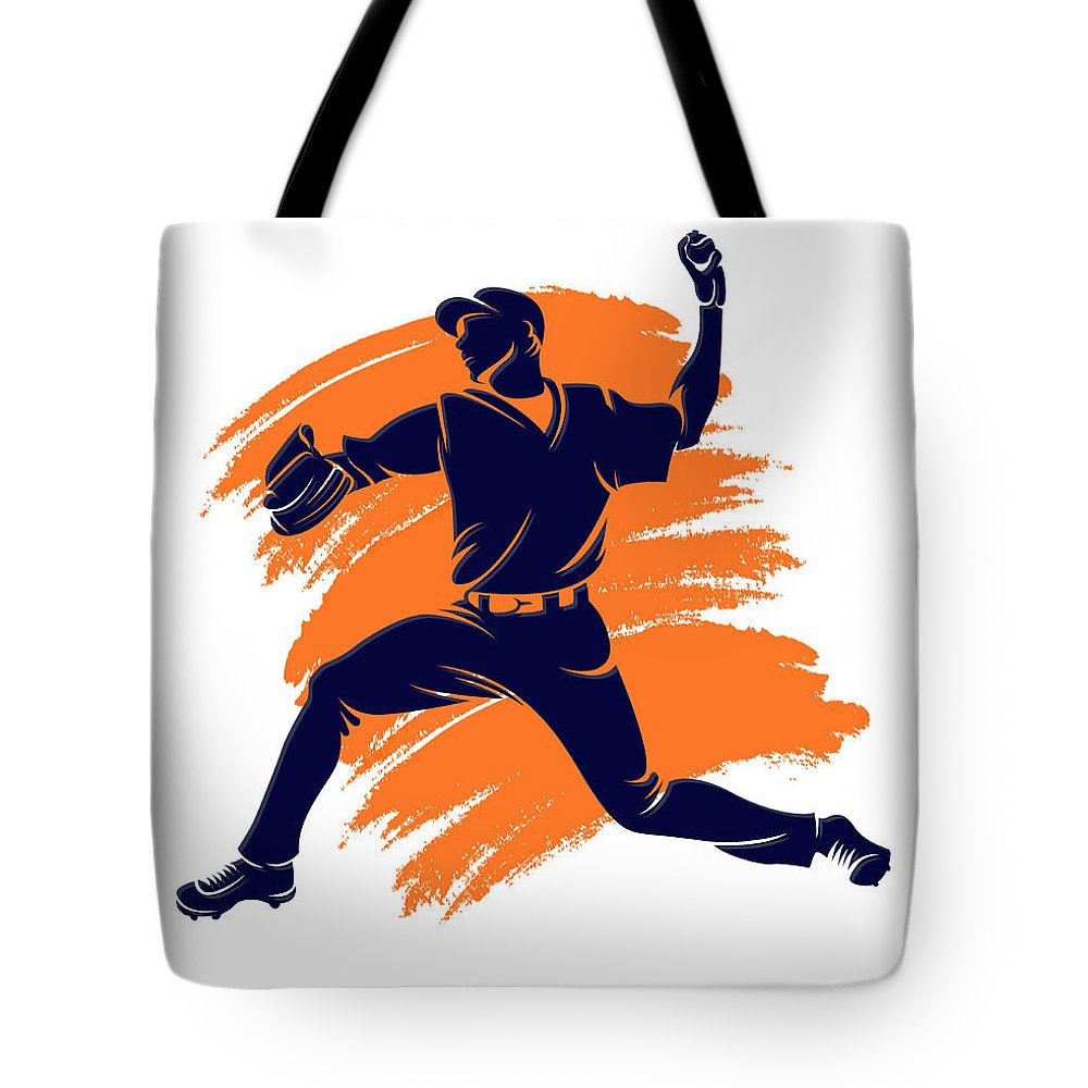 Astros Tote Bag featuring the photograph Astros Shadow Player2 by Joe Hamilton