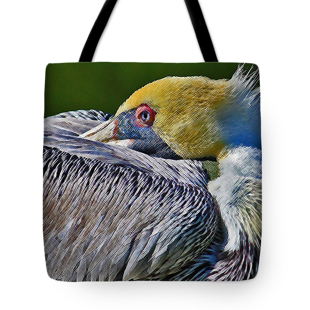 Pelican Tote Bag featuring the photograph At Rest 2 by HH Photography of Florida