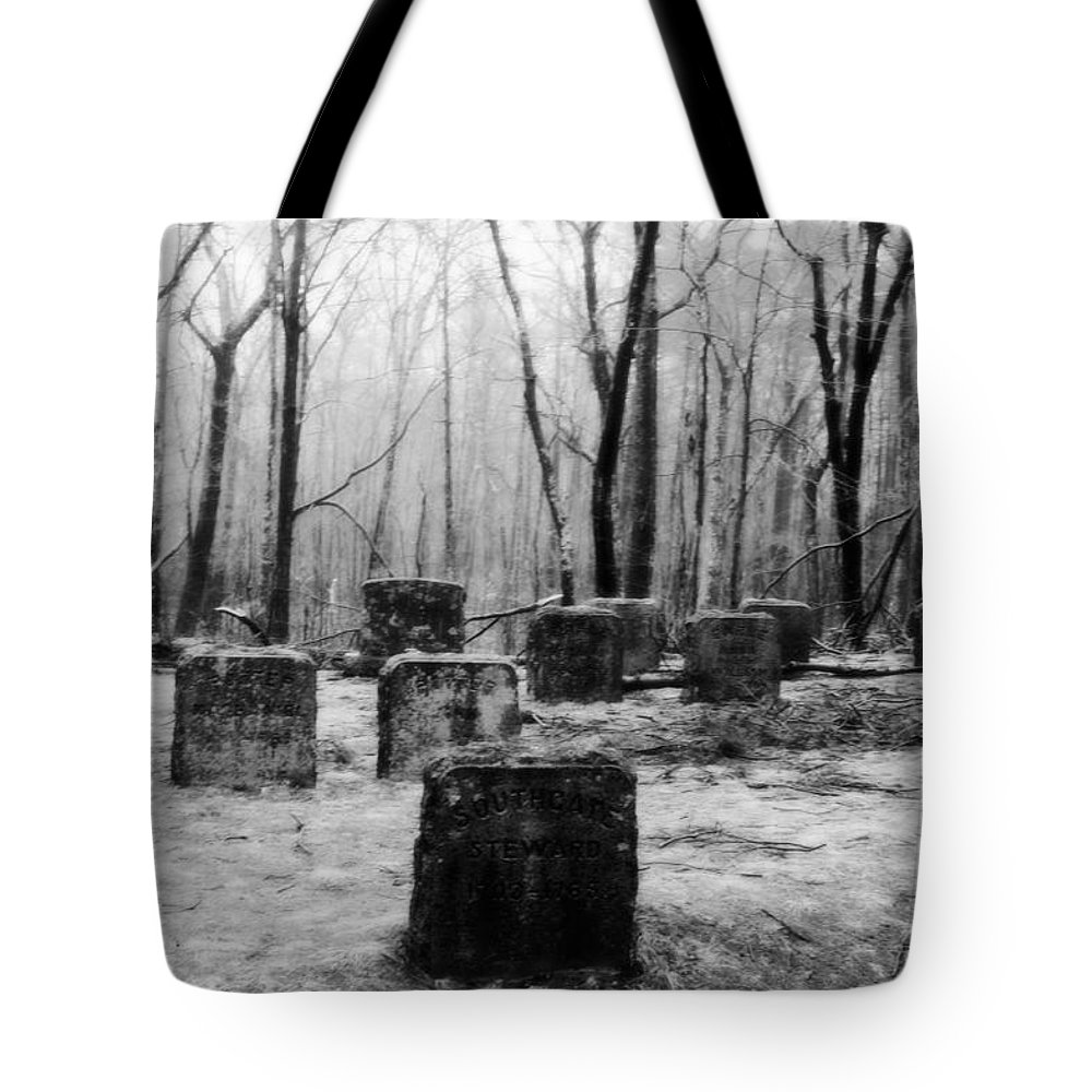 Cemetery Tote Bag featuring the photograph At Rest by Conor McLaughlin