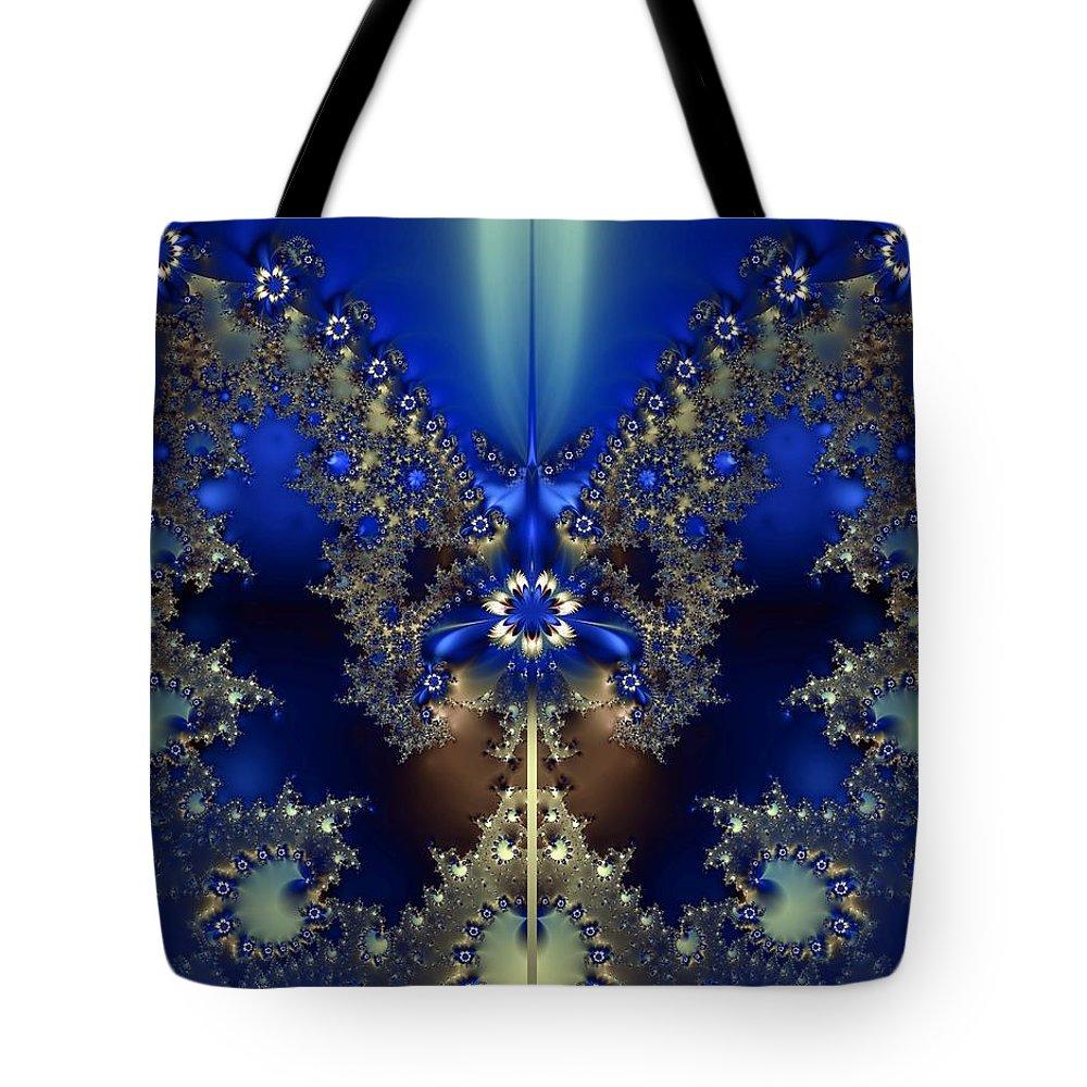 Digital Tote Bag featuring the digital art At Twilight by Renee Trenholm