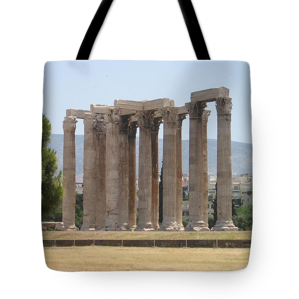 Athens Tote Bag featuring the photograph Athens 1 by Kimberly Maxwell Grantier