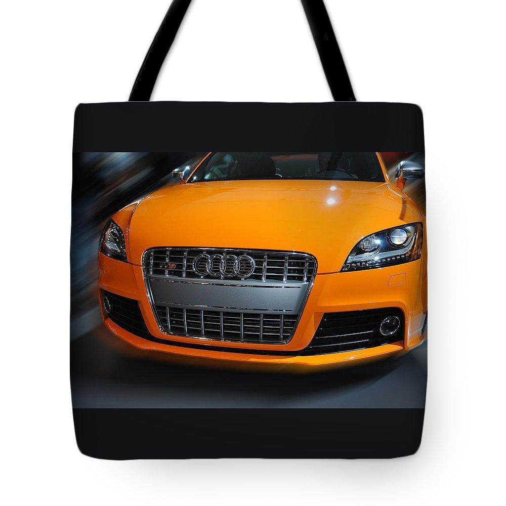 Audi Tote Bag featuring the photograph Audi Tts by Dragan Kudjerski