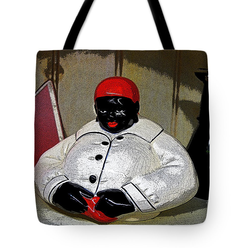 Aunt Jemima Tote Bag featuring the photograph Aunt Jemima by Paul Mashburn