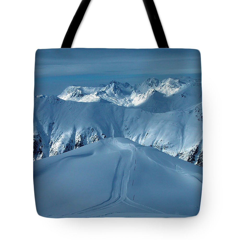 Colette Tote Bag featuring the photograph Austria Mountain Ischgl by Colette V Hera Guggenheim