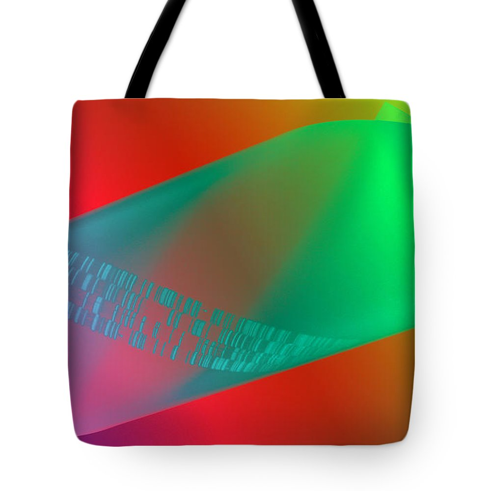Dna Tote Bag featuring the photograph Autoradiograph by Scott Camazine