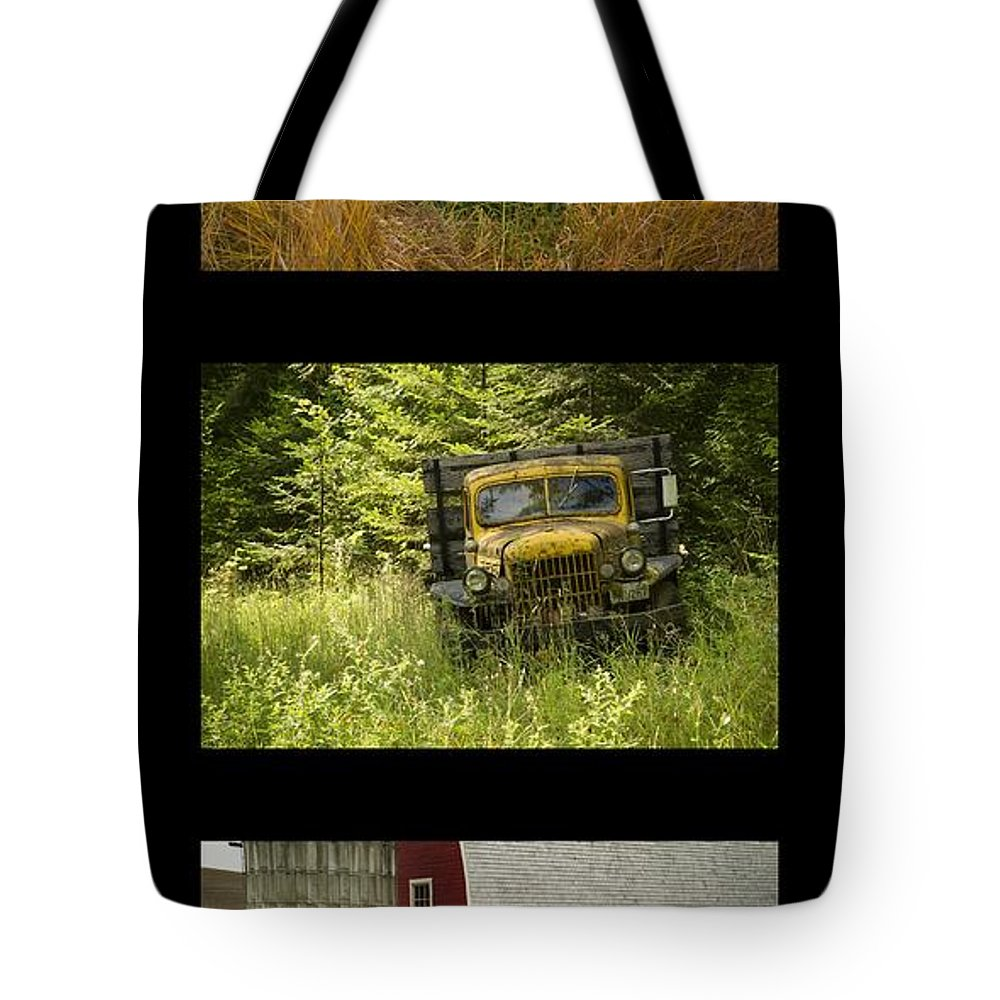 Trucks Tote Bag featuring the photograph Autumn Boys by Idaho Scenic Images Linda Lantzy