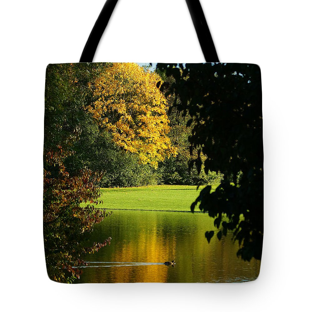 Nature Tote Bag featuring the photograph Autumn Colors 2 by Rudi Prott