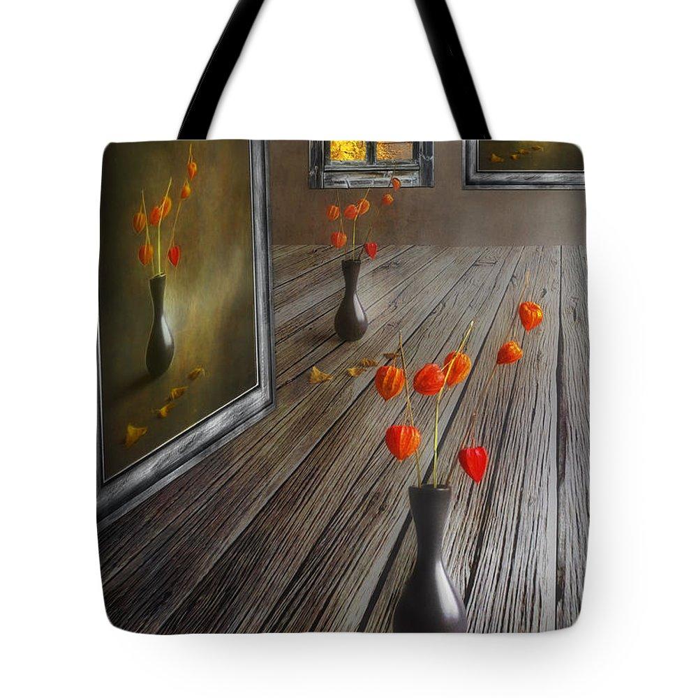 Art Tote Bag featuring the photograph Autumn Colours by Veikko Suikkanen