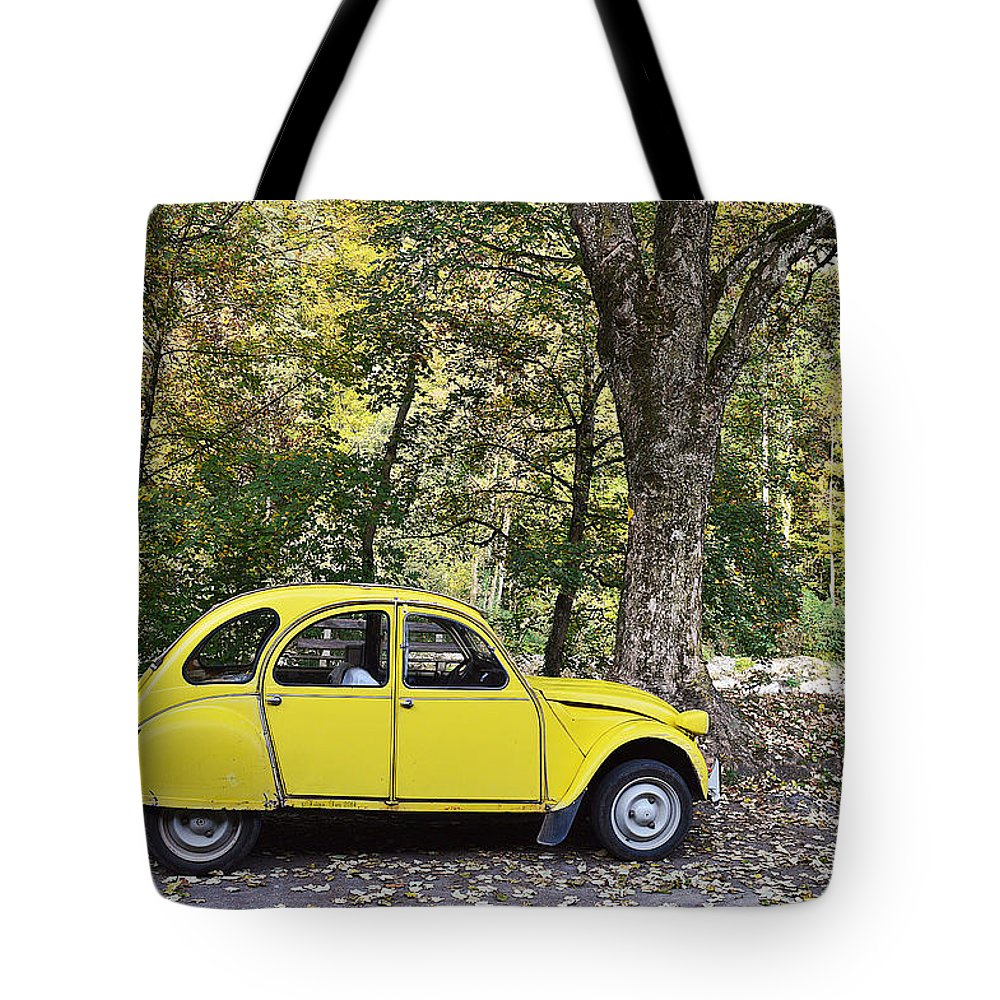 Transportation Tote Bag featuring the photograph Autumn Harmony by Felicia Tica