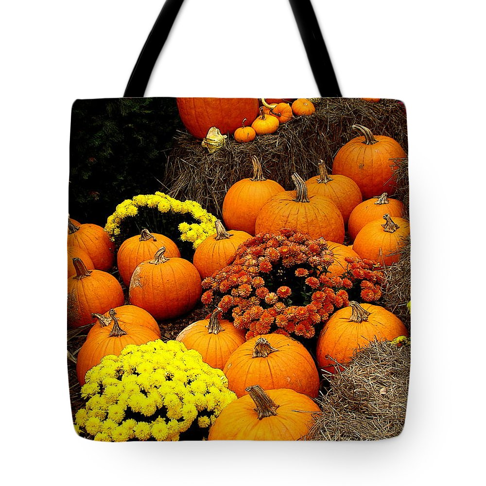 Fine Art Tote Bag featuring the photograph Autumn Harvest 6 by Rodney Lee Williams