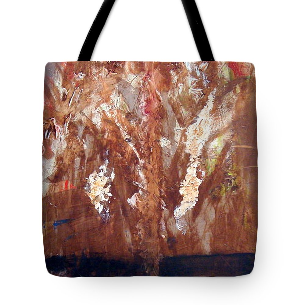 Autumn Tote Bag featuring the painting Autumn by Holly Picano