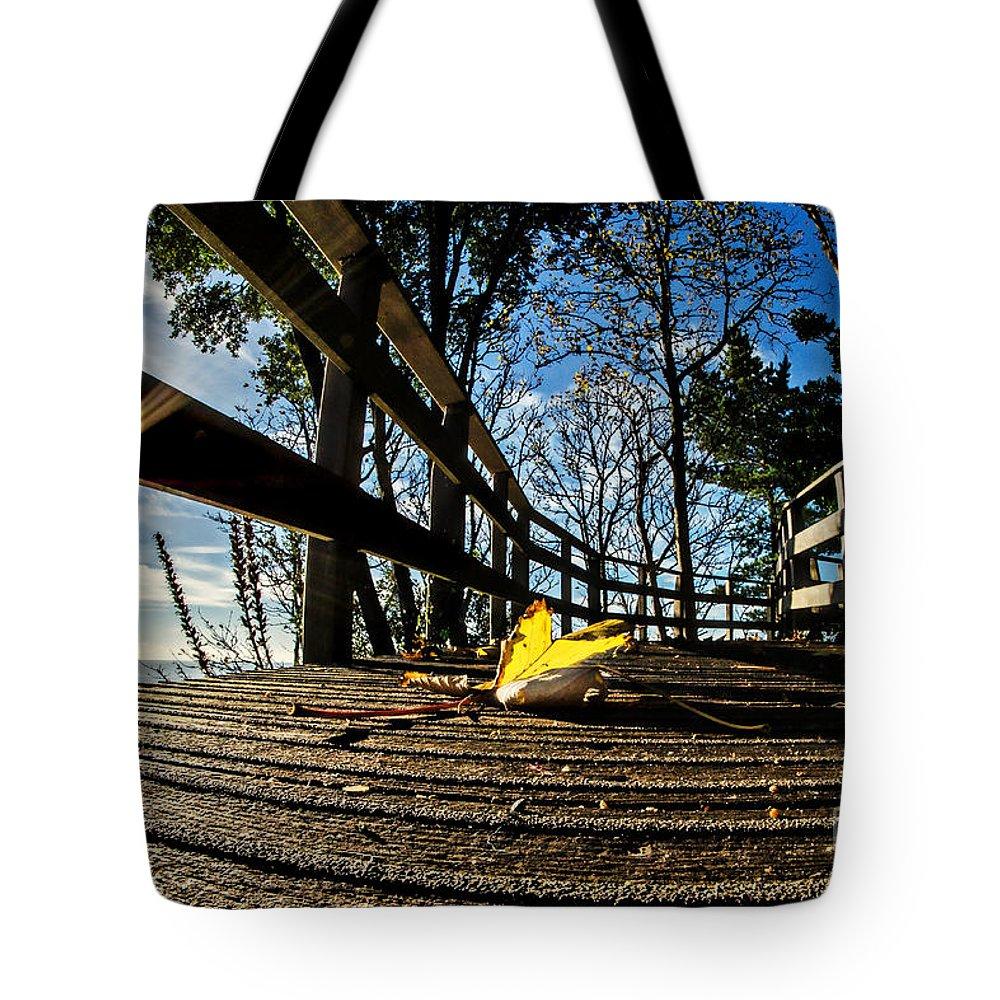 Lyme Regis Tote Bag featuring the photograph Autumn In Lyme Regis 2 by Susie Peek