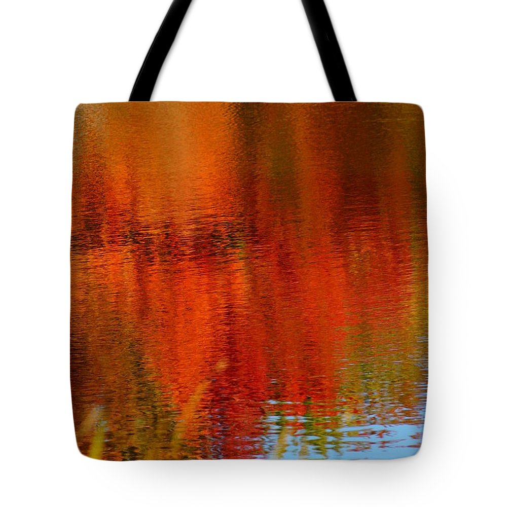 Autumn Colors Tote Bag featuring the photograph Autumn by Jeffery L Bowers