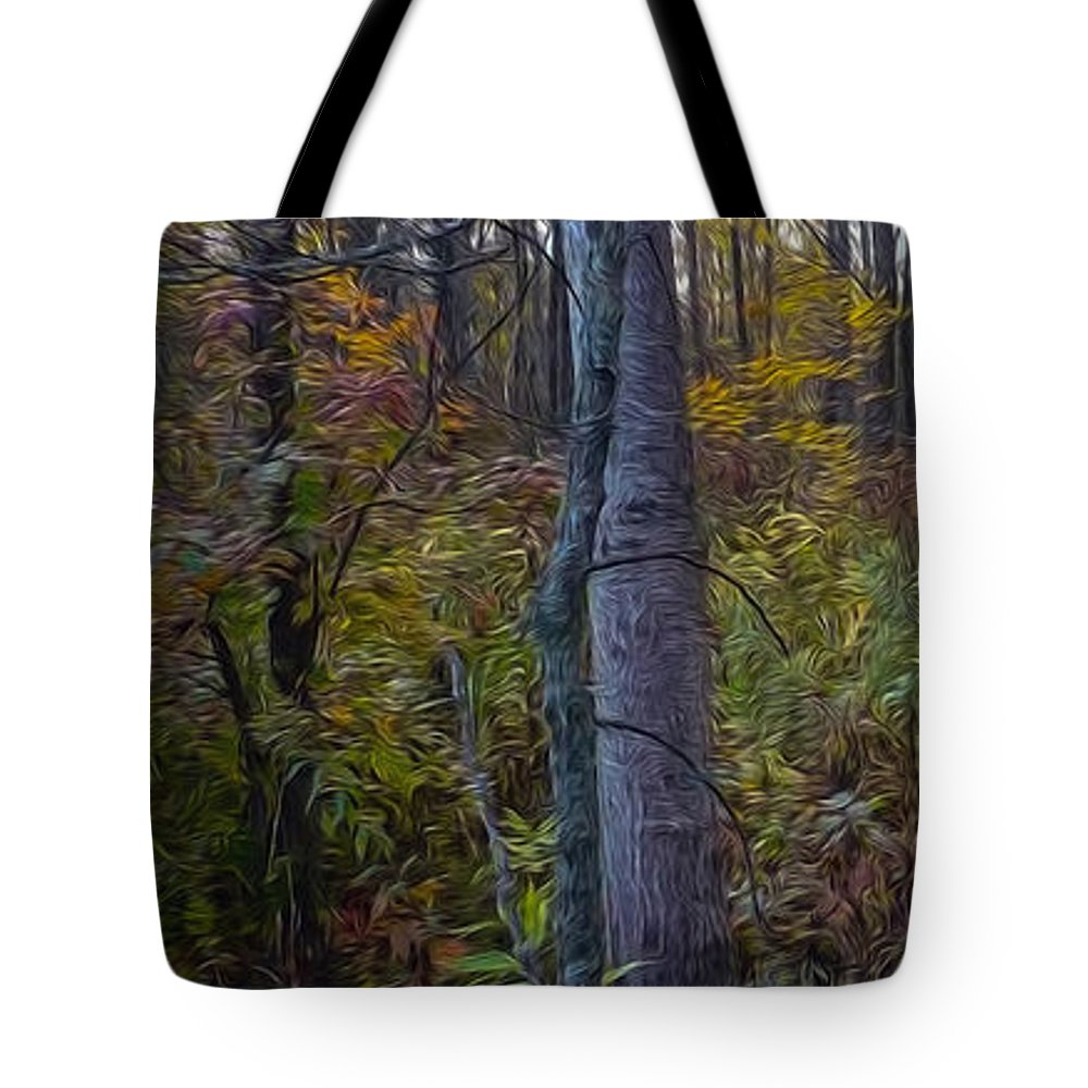 Fall Tote Bag featuring the photograph Autumn Panorama by Jacqueline Milner