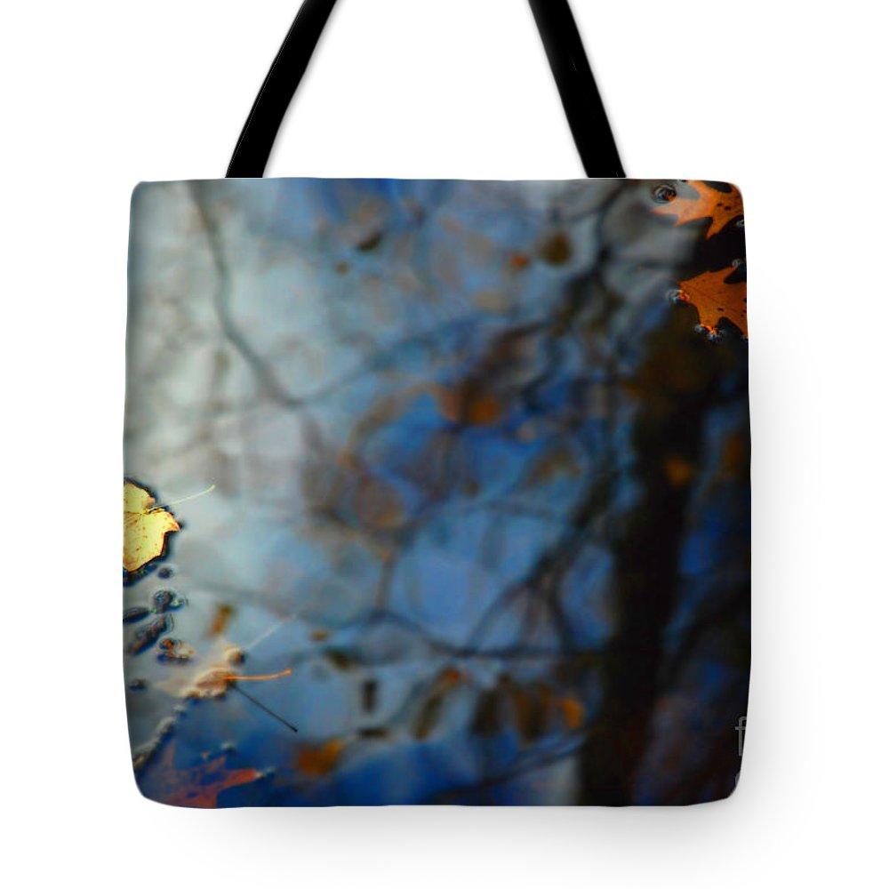 Autumn Tote Bag featuring the photograph Autumn Reflections by Jason Kolenda