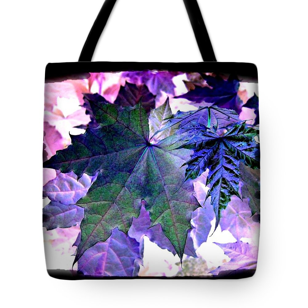 Autumn Reverie Tote Bag featuring the digital art Autumn Reverie by Will Borden