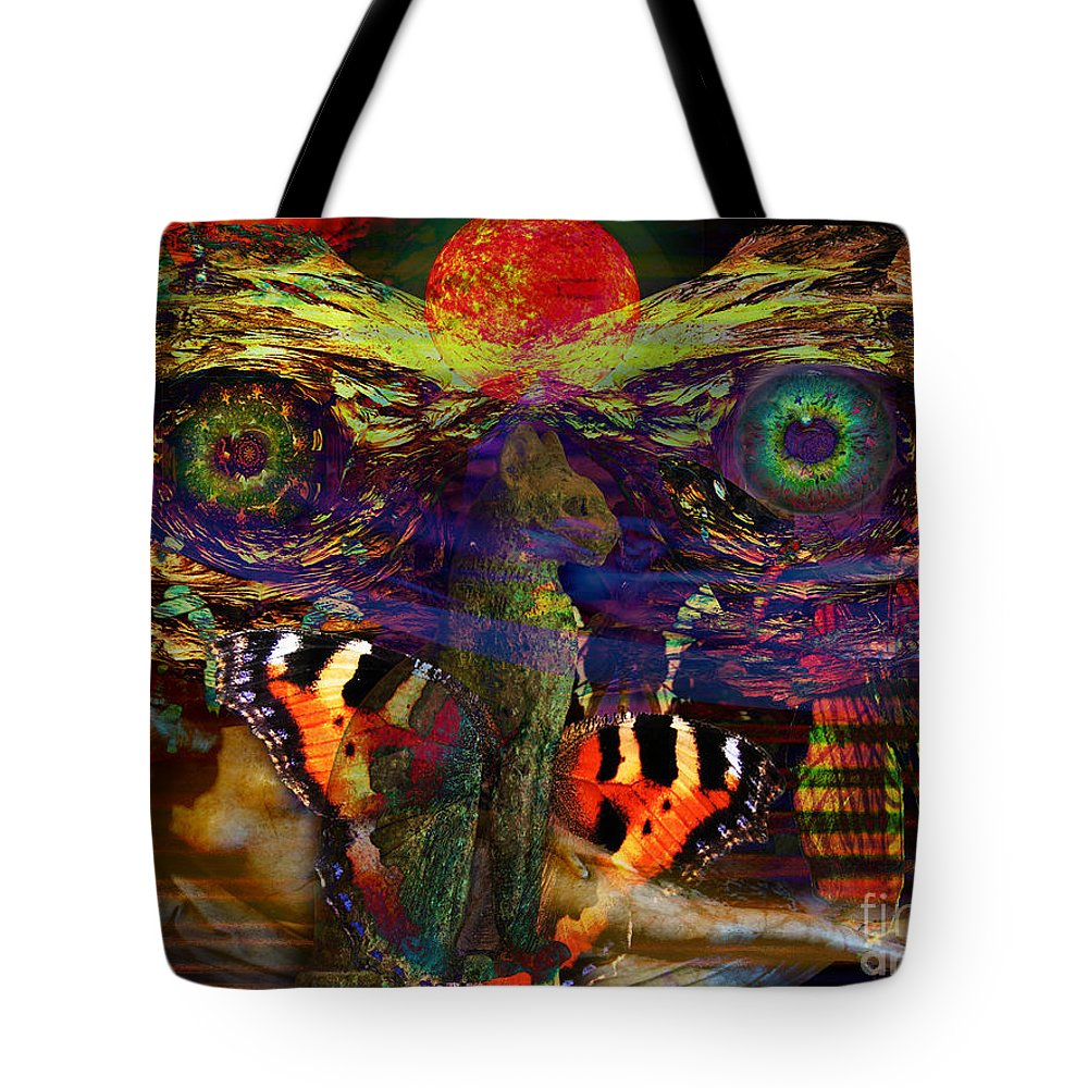 Earth Tote Bag featuring the digital art Solar Sleep by Joseph Mosley