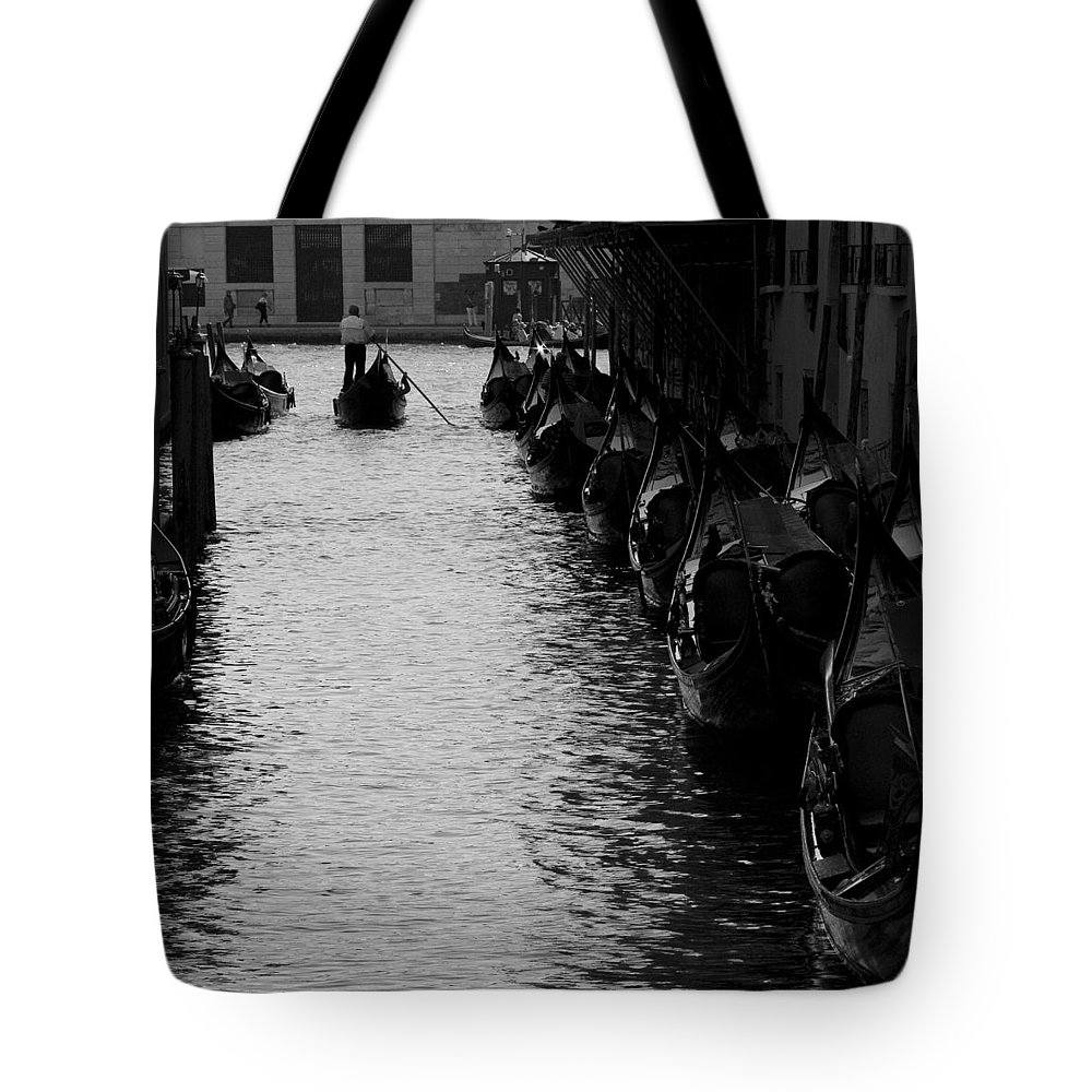 Venice Tote Bag featuring the photograph Away - Venice by Lisa Parrish