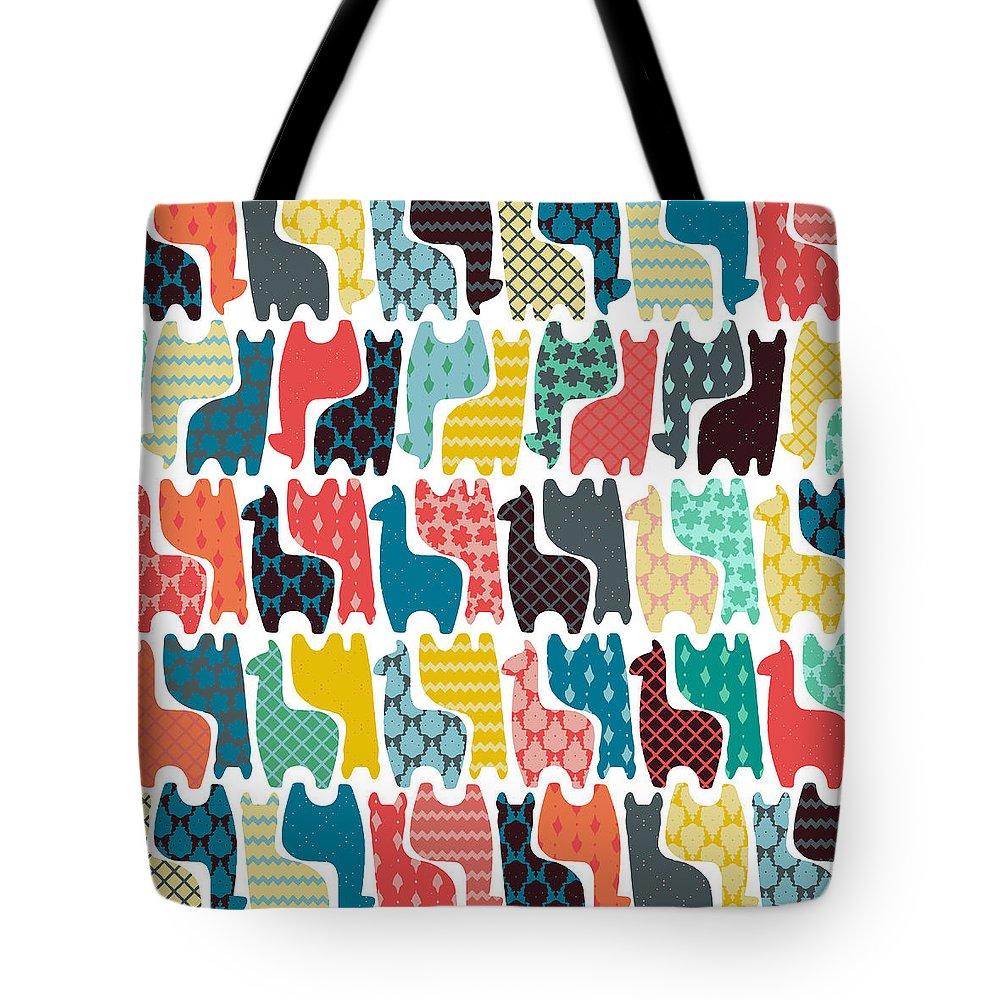 Llama Tote Bags
