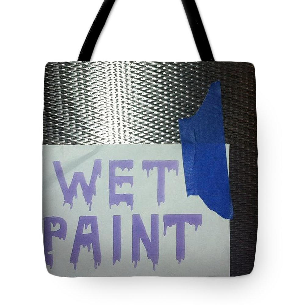 Wet Paint Tote Bag featuring the photograph Back East 11 by Marlene Burns