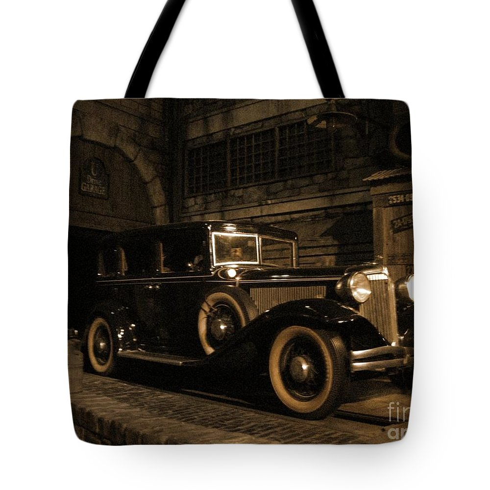Classic Cars Tote Bag featuring the photograph Back In Time by John Malone
