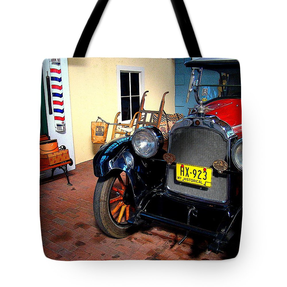 Fine Art Tote Bag featuring the photograph Back Then by Rodney Lee Williams