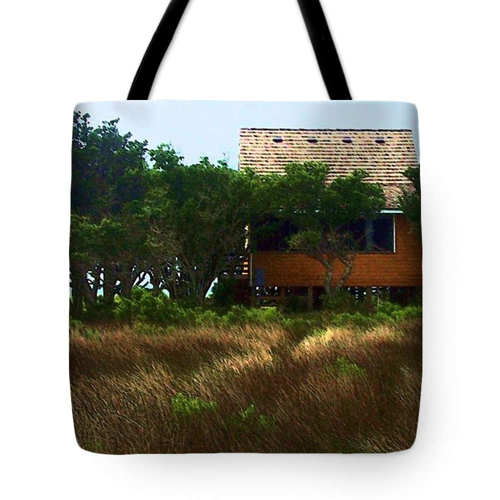 Beach Tote Bag featuring the photograph Back To The Island by Debbi Granruth