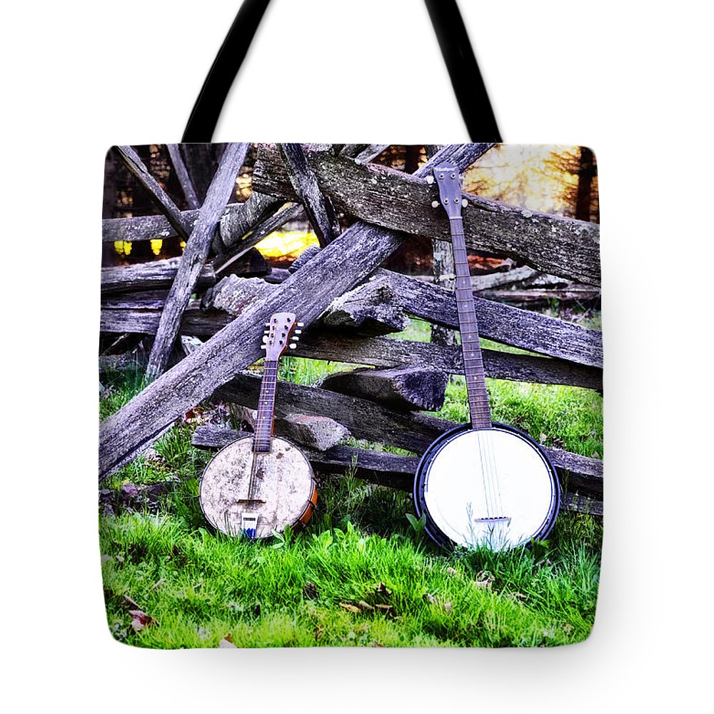 Backwoods Tote Bag featuring the photograph Backwoods Music by Bill Cannon