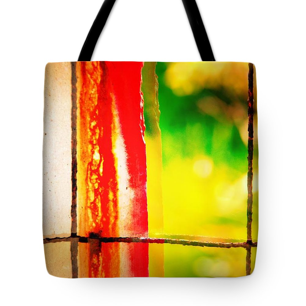 Abstract Tote Bag featuring the photograph Bacon Thoughts by David Coleman