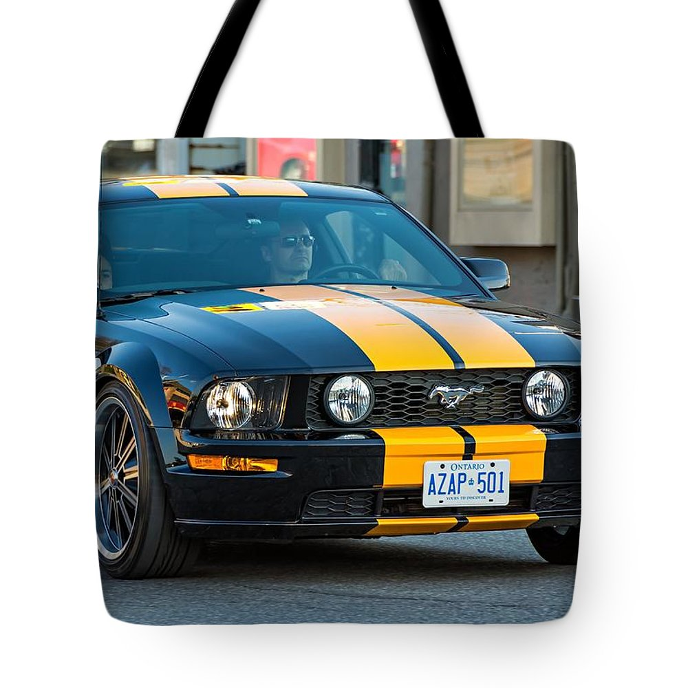 Spring Tote Bag featuring the photograph Bad Boy by Steve Harrington