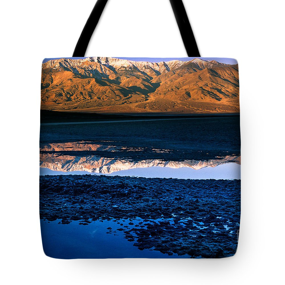 America Tote Bag featuring the photograph Badwater by Inge Johnsson