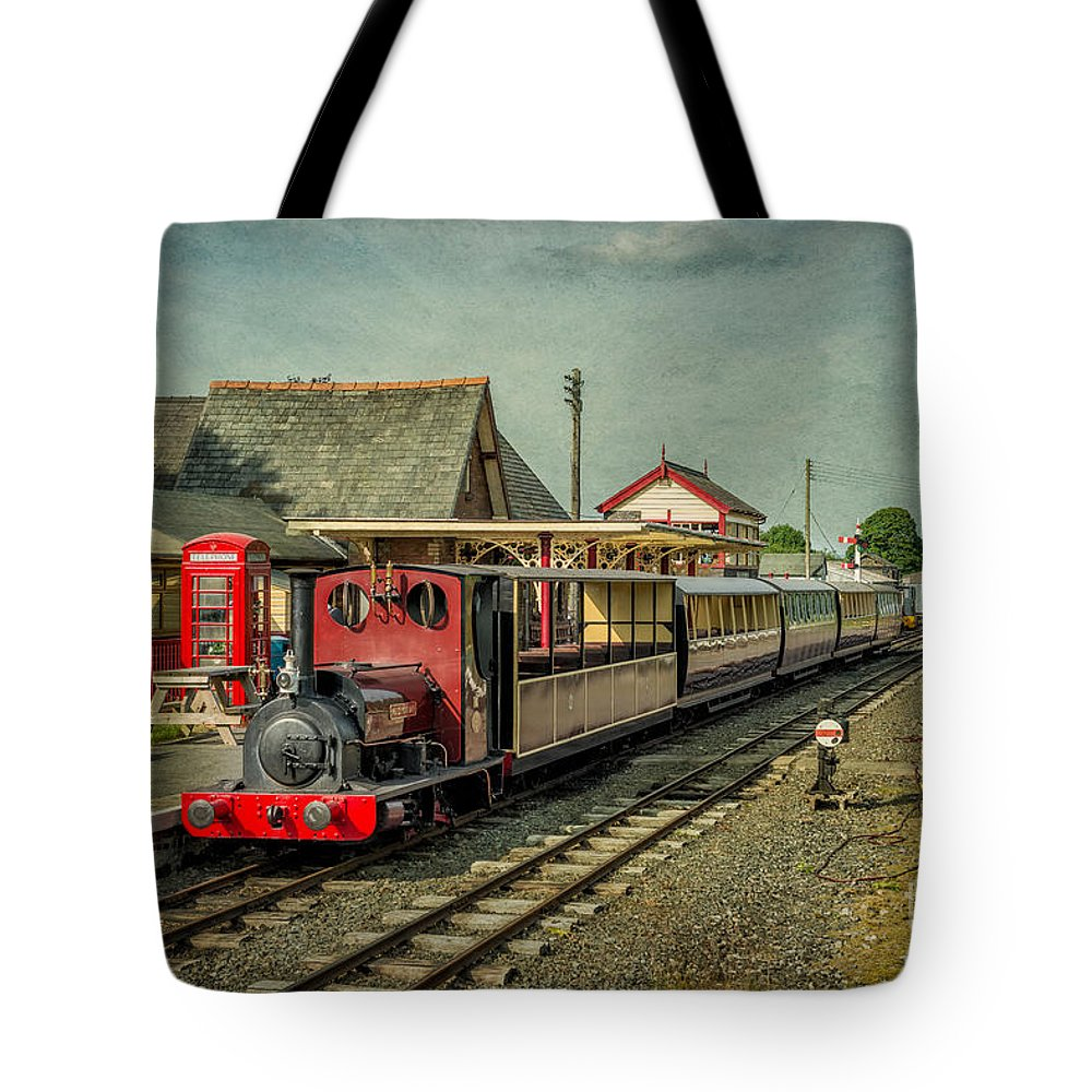 1903 Tote Bag featuring the photograph Bala Lake Railway by Adrian Evans