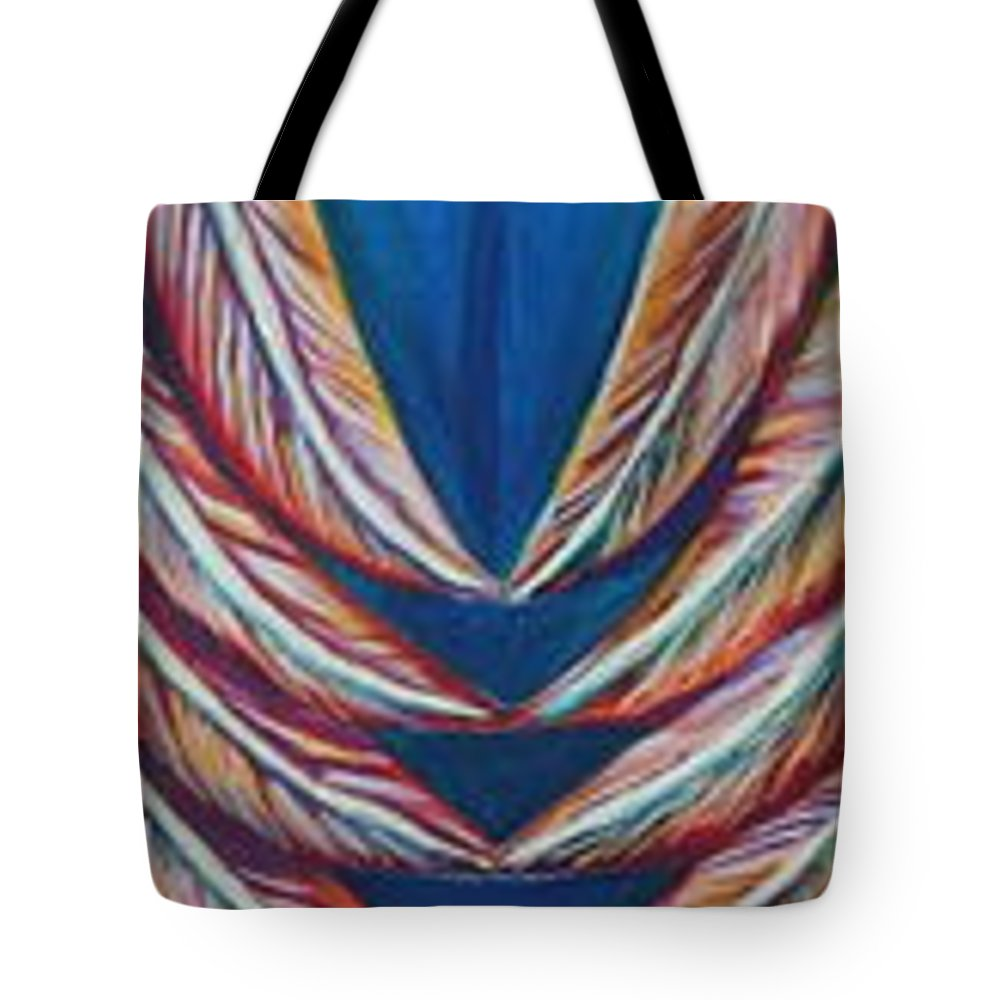 Skinny Tote Bag featuring the painting Balance by Kate Fortin