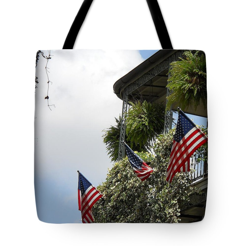 Balcony Tote Bag featuring the photograph Balcony I by Beth Vincent