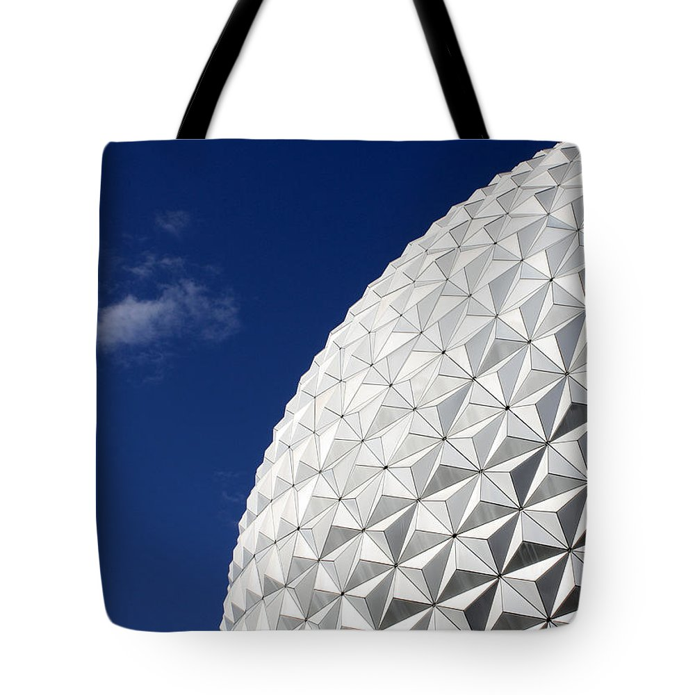 Disney World Tote Bag featuring the photograph Ball In The Blue by David Nicholls