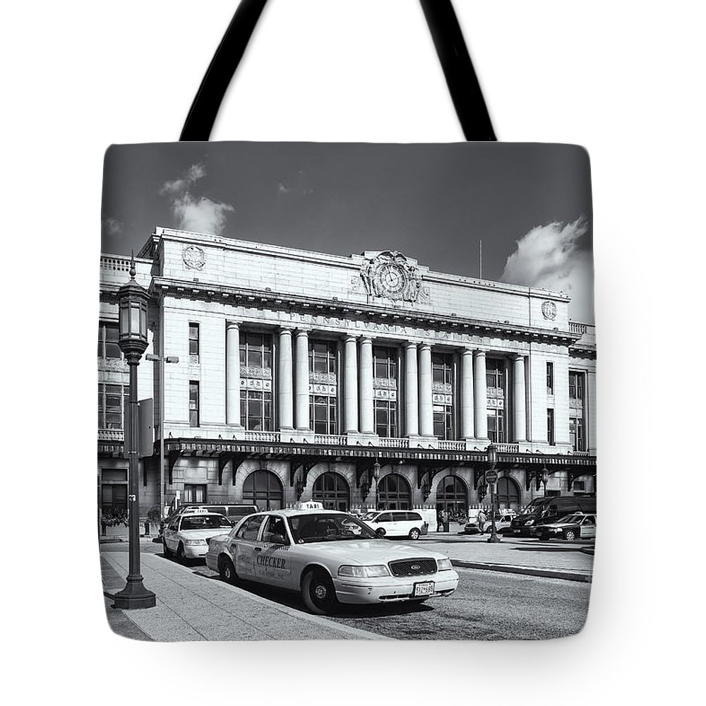 Clarence Holmes Tote Bag featuring the photograph Baltimore Pennsylvania Station Iv by Clarence Holmes