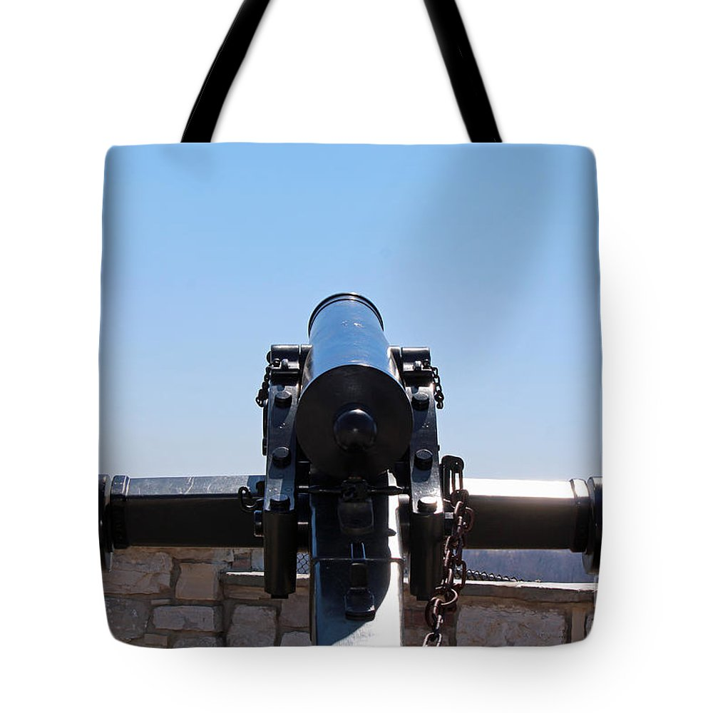 Canon Tote Bag featuring the photograph Bang by Jamie Smith