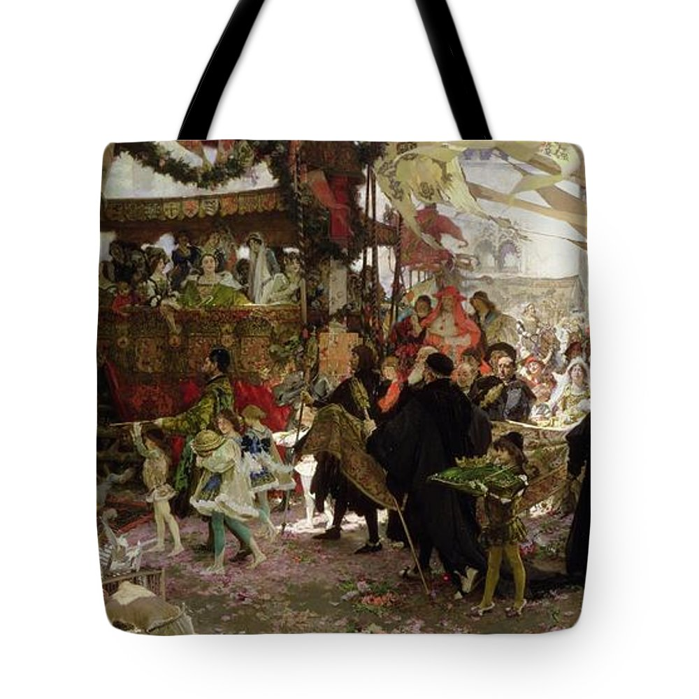 Christening Photographs Tote Bags