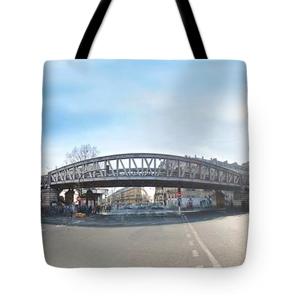 Paris Tote Bag featuring the photograph Barbes - Rochechouart by Marc Philippe Joly