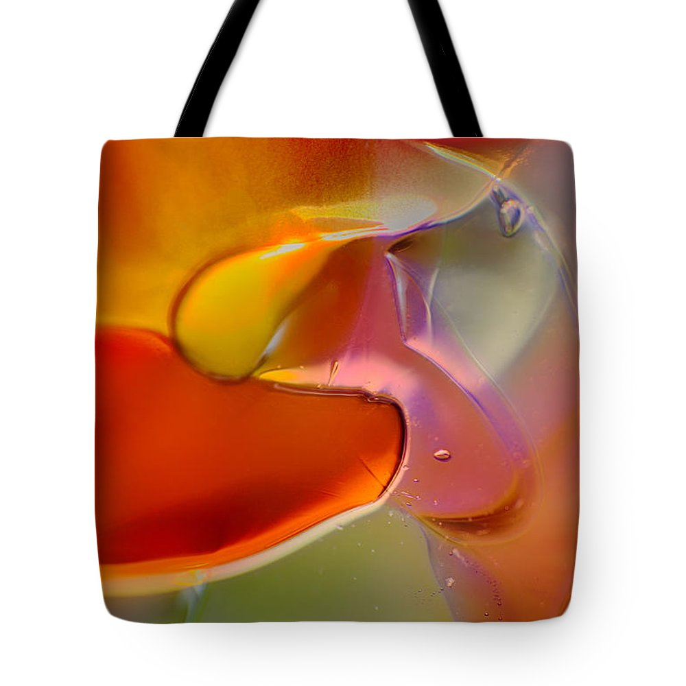 Blue Tote Bag featuring the photograph Barely A Bird by Omaste Witkowski