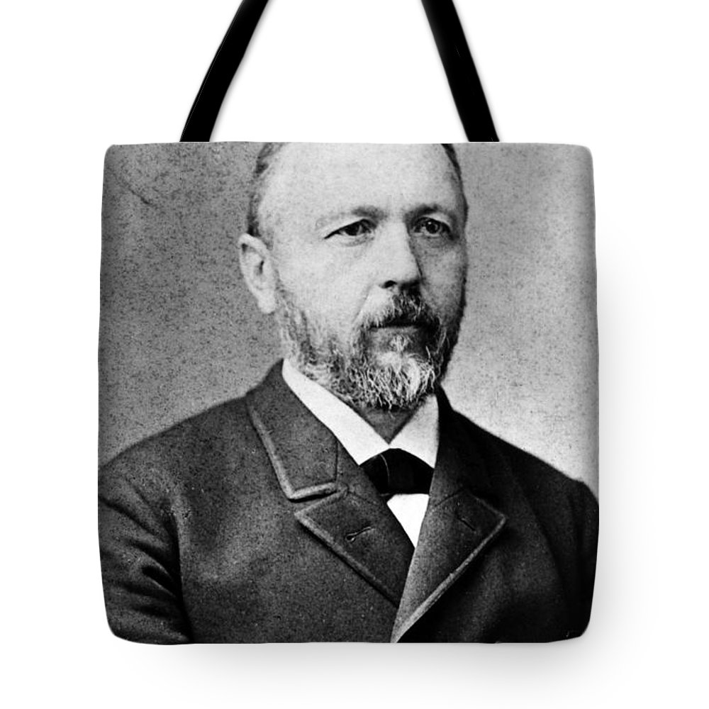 19th Century Tote Bag featuring the photograph Baron Krafft-ebing by Granger