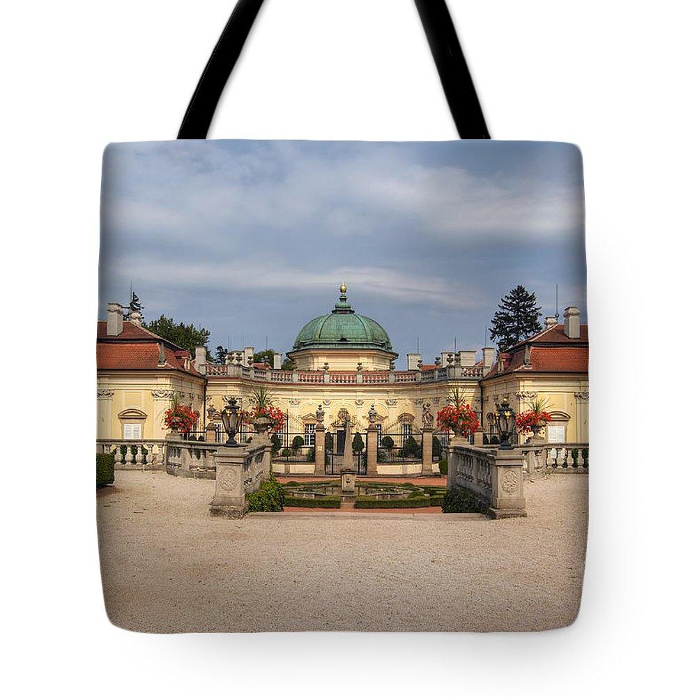 Buchlovice Tote Bag featuring the photograph Baroque Landmark - Buchlovice Castle by Michal Boubin