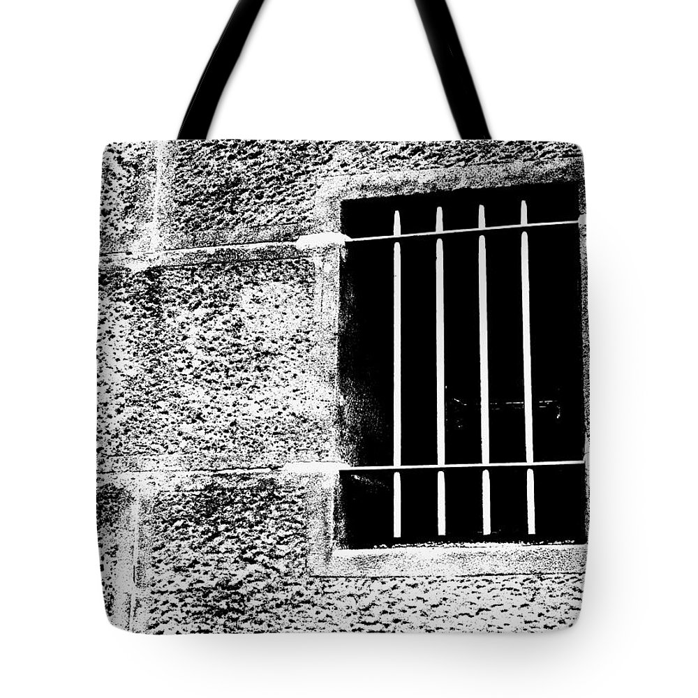 Bar Tote Bag featuring the photograph Barred by Kaleidoscopik Photography