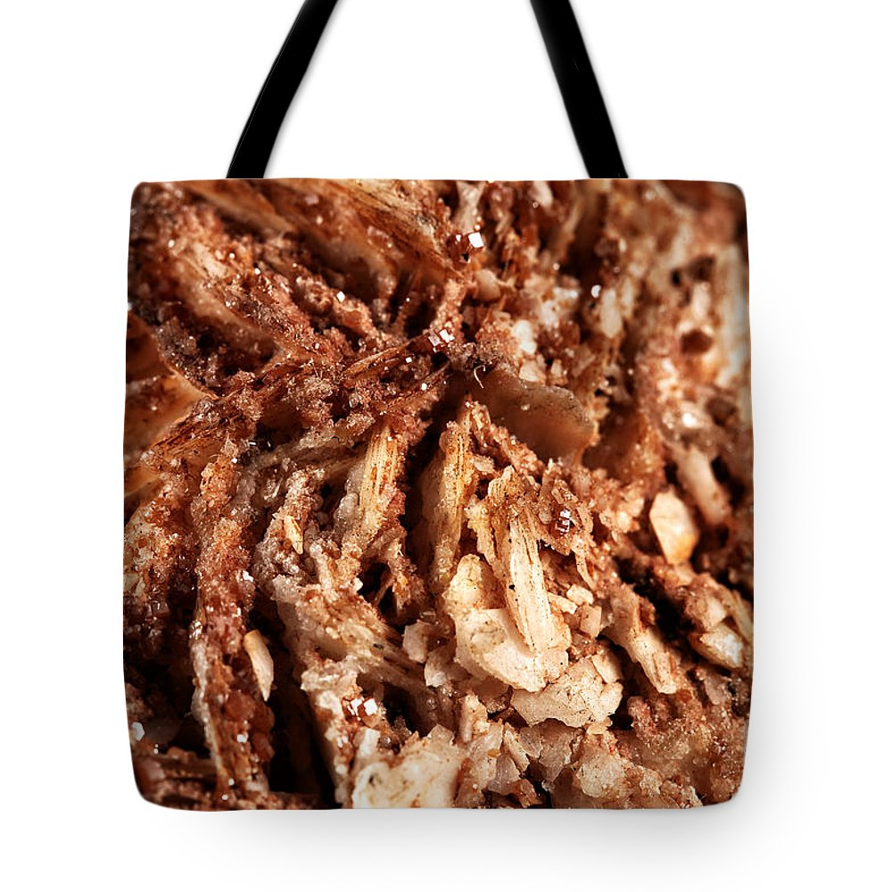 Baryte Tote Bag featuring the photograph Baryte by John Rizzuto