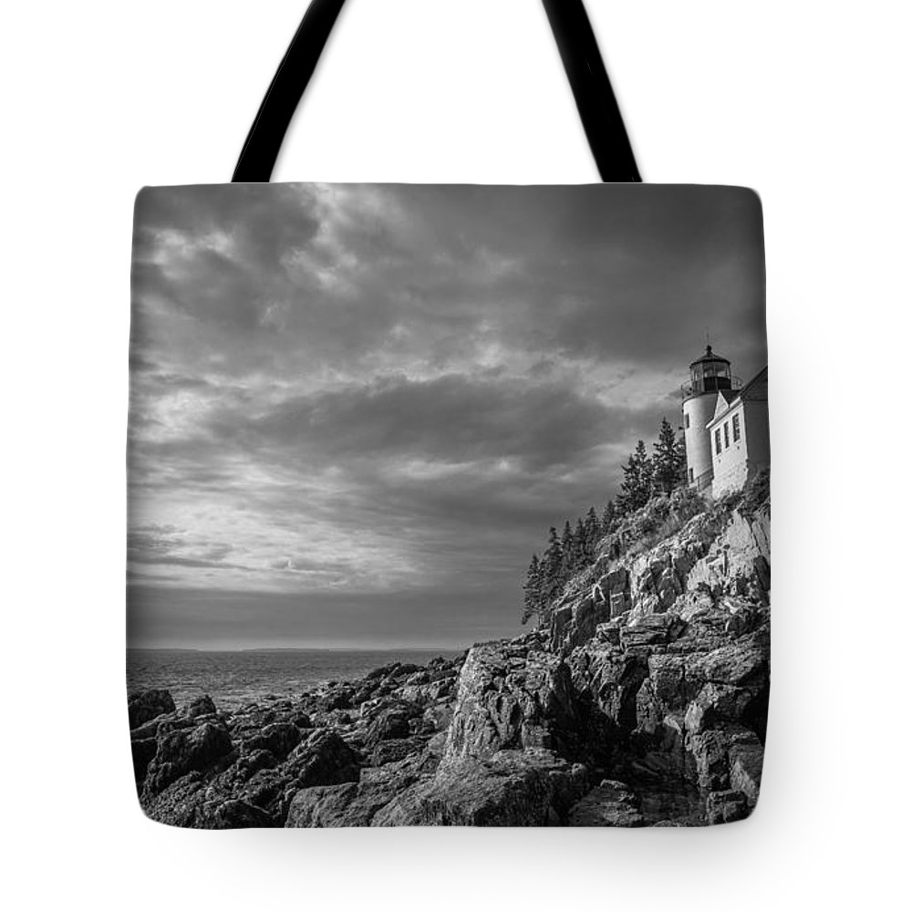 Acadia Tote Bag featuring the photograph Bass Harbor Views by Kristopher Schoenleber