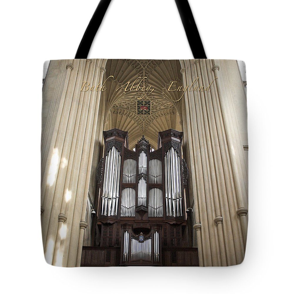 Bath Tote Bag featuring the photograph Bath Abbey England by Jenny Setchell